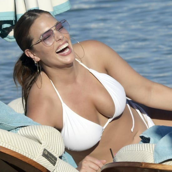Ashley Graham Bikini Pictures in Greece July 2018