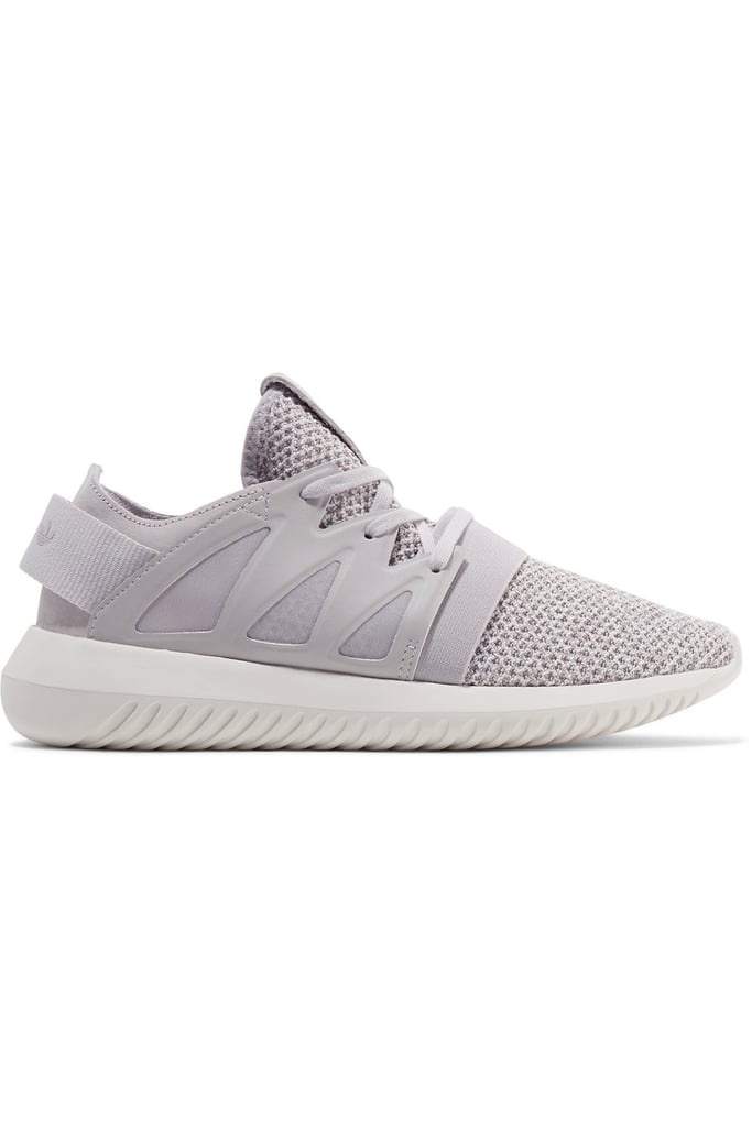 Opt for knits like these adidas Tubular Viral Textured-Knit Sneakers ($100).