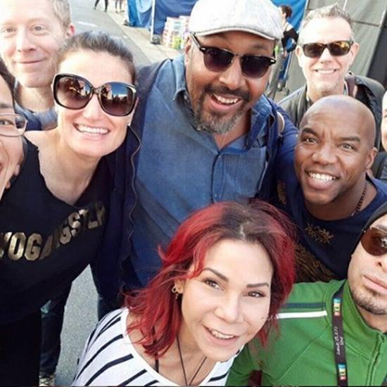 Original Broadway Cast of Rent Reunion at Rent Live Pictures