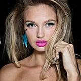 Trashy-Sexy Makeup at Jeremy Scott
