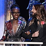 Jared Leto could not take his eyes off of Lupita Nyong'o in 2015.