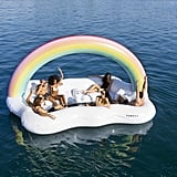 Buy the Funboy Rainbow Cloud Island Float Here
