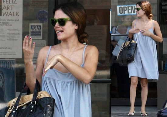 Photos of Rachel Bilson Shopping with Her Mom