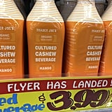 How Much Does Trader Joe's Cultured Cashew Beverage Cost?