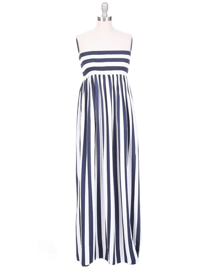 Cool Change Stripe Maxi Dress