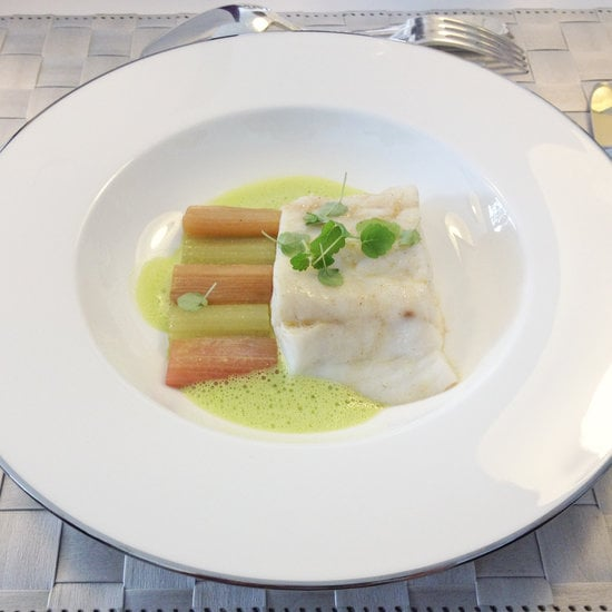 <h2>Sea Bass With Rhubarb and Celery</h2>