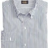 Brooks Brothers Blue Bold Stripe Sport Shirt