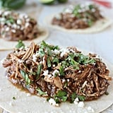 Slow-Cooker Chicken Mole Tacos