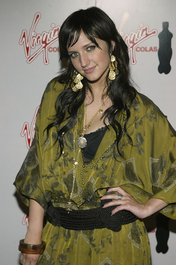 2004: Ashlee Simpson at the Virgin Cola/MTV Movie Awards After Party