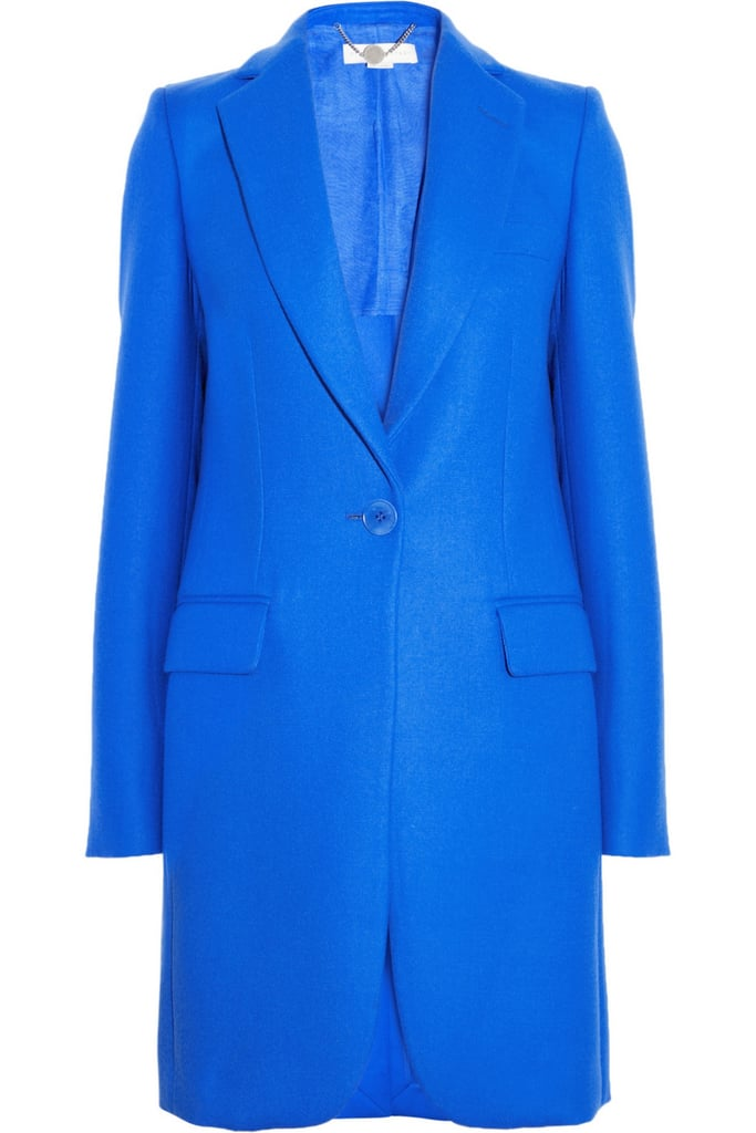 Is blue your signature color? This Stella McCartney Wool-Twill Coat ($1,155, originally $1,925) is as sharp as it gets, thanks to its streamlined tailoring and menswear aesthetic.