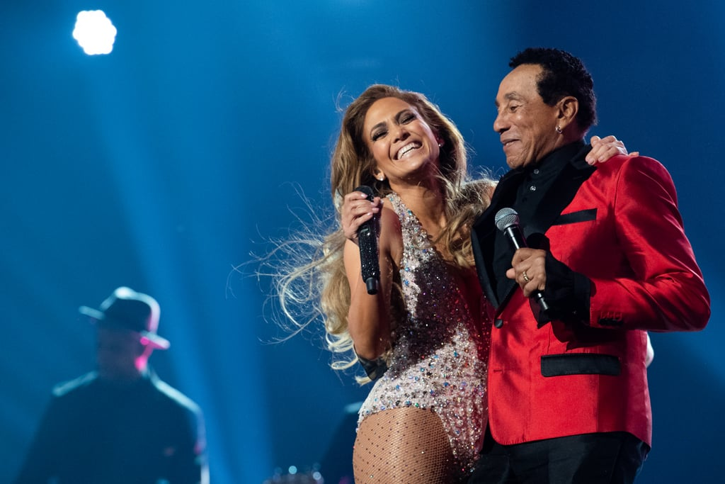 """Jennifer Lopez is defending herself against criticism of her Motown tribute at the 2019 Grammys. At the award show on Feb. 10, the singer performed a medley in honor of the record label's 60th anniversary, which included iconic songs like """"Dancing in the Street,"""" """"Do You Love Me,"""" and """"My Girl."""" While Smokey Robinson, Ne-Yo, and Alicia Keys also joined Lopez on stage, Grammy producers faced criticism that a more fitting performer could have been chosen to lead the tribute given Motown's impact on black history and culture.  """"Any type of music can inspire any type of artist."""" In an interview with Entertainment Tonight following the show, Lopez said, """"The thing about music is that it inspires all. Any type of music can inspire any type of artist."""" She added, """"You can't tell people what to love. You can't tell people what they can and can't do, what they should sing or not sing. You gotta do what's in your heart."""" Describing the performance as a """"dream come true,"""" Lopez also explained that she grew up listening to Motown releases with her mom. """"It was for my mom. I could cry. It's such a good moment,"""" she said. """"Singing up there with Smokey Robinson, like, I gotta pinch myself. I grew up on all those songs, and because my mom loved him so much, she passed him on to us.""""      Related:                                                                                                           Dolly Parton Stole the Show During Her Own Tribute Performance at the Grammys               Though Lopez acknowledged the performance was met with some backlash, she said Motown founder Berry Gordy was """"thrilled."""" The label's official Instagram account also shared a photo of the tribute with the caption, """"A performance to remember."""" Lopez said, """"They know how much I have been influenced by that music and so it was a natural fit for them. But for some people, [it wasn't], and that's okay. I'm just very humbled and honored to be able to have sung those songs."""" As for Robinson, he seemed """
