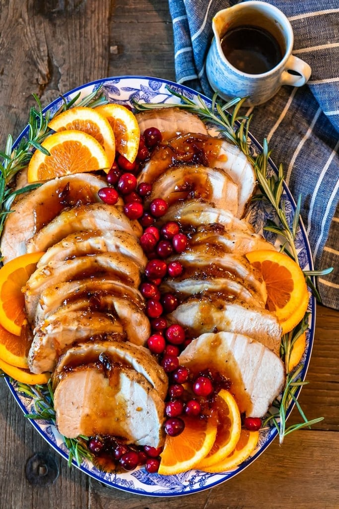 Orange Cranberry Pork Loin Roast