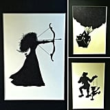 The Happy Thought Shop Silhouettes ($15 each)