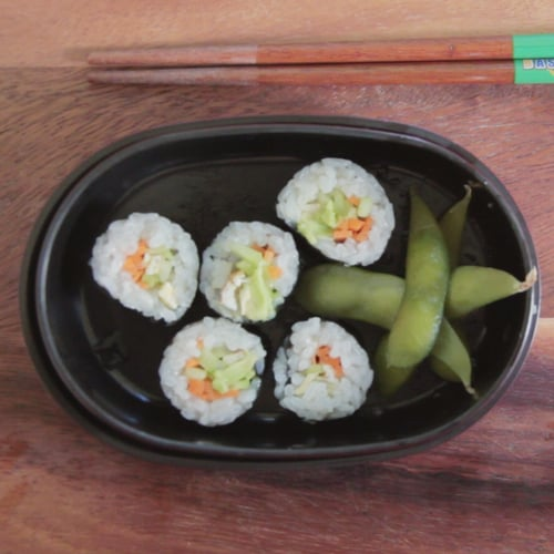 Kid-Friendly Vegetable Sushi
