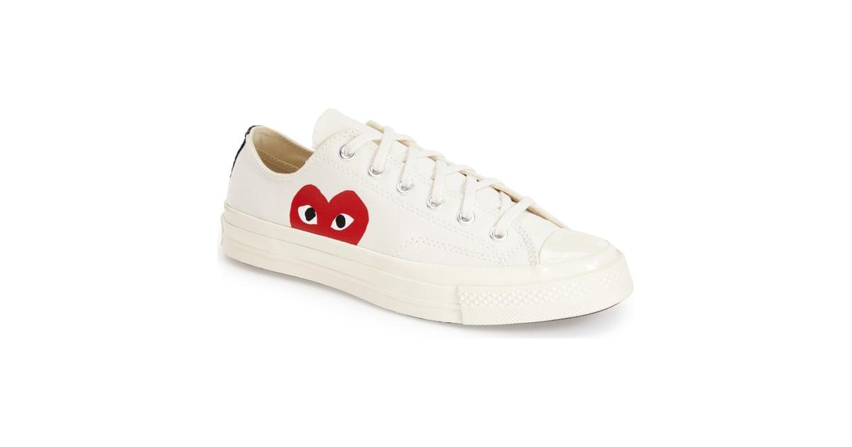 fe1a64ca0 Comme des Garçons PLAY x Converse Chuck Taylor Hidden Heart Sneakers ...