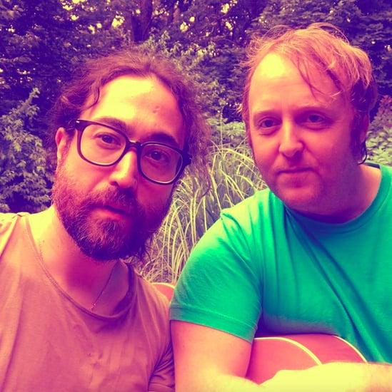 John Lennon and Paul McCartney's Sons' Selfie August 2018