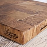 Antique Oak End Grain Chopping Block ($240)