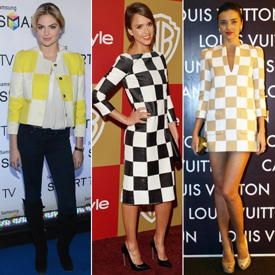 See the Celebs to Wear Louis Vuitton's Spring '13 Checks!