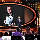 Ryan Seacrest paid tribute to his former boss, and radio legend, Dick Clark.