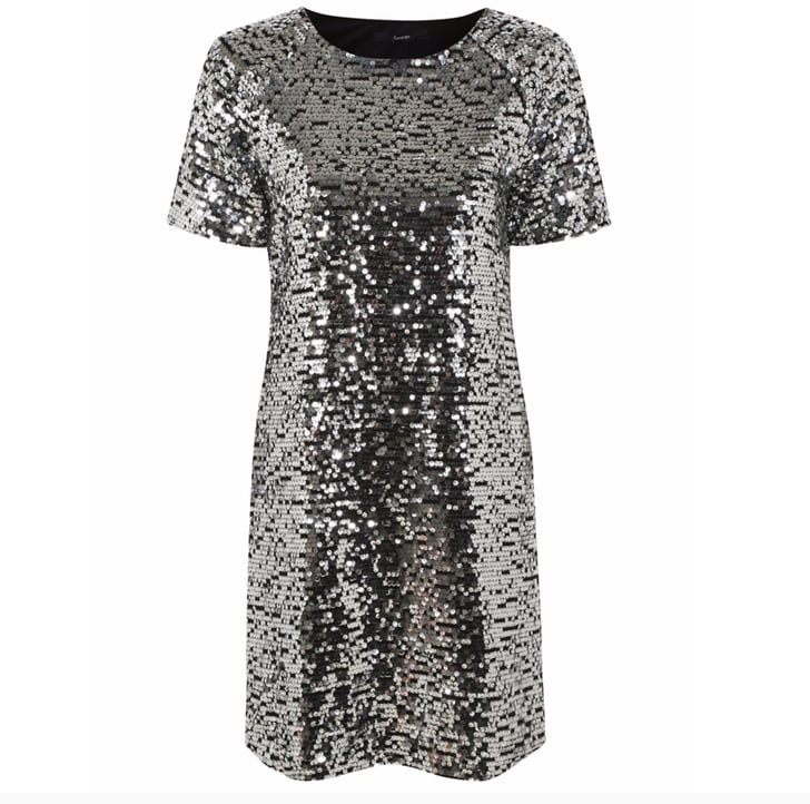George Sequin Shift Dress Christmas Party Dresses For