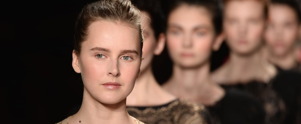 Monique Lhuillier Fall 2014 Hair and Makeup | Runway Picture