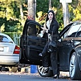 Pictures of Courteney Cox and Coco Arquette in LA on Christmas Eve