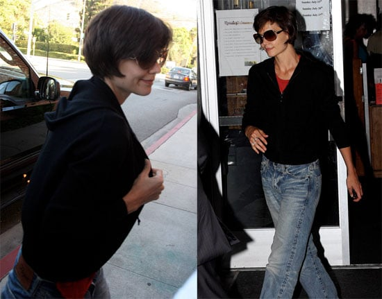 Photos of Katie Holmes on Eli Stone