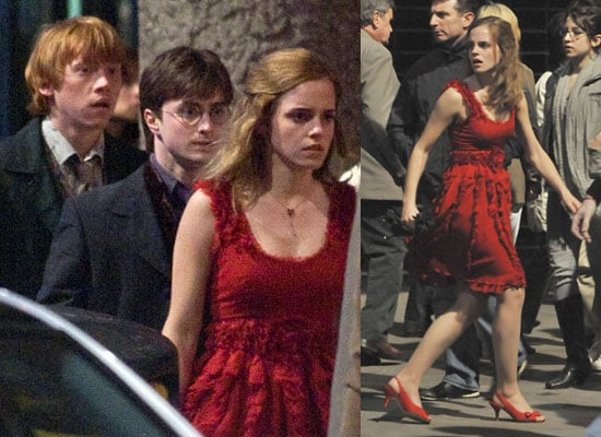 21/4/2009 Harry Potter Filming