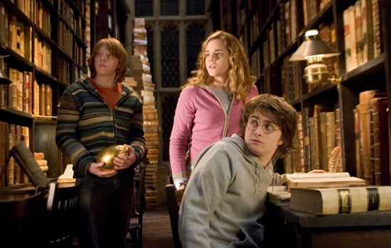 Ron and Hermione, Harry Potter