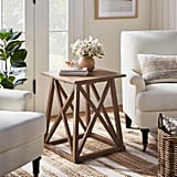 Copperton Wood X Base Accent Table