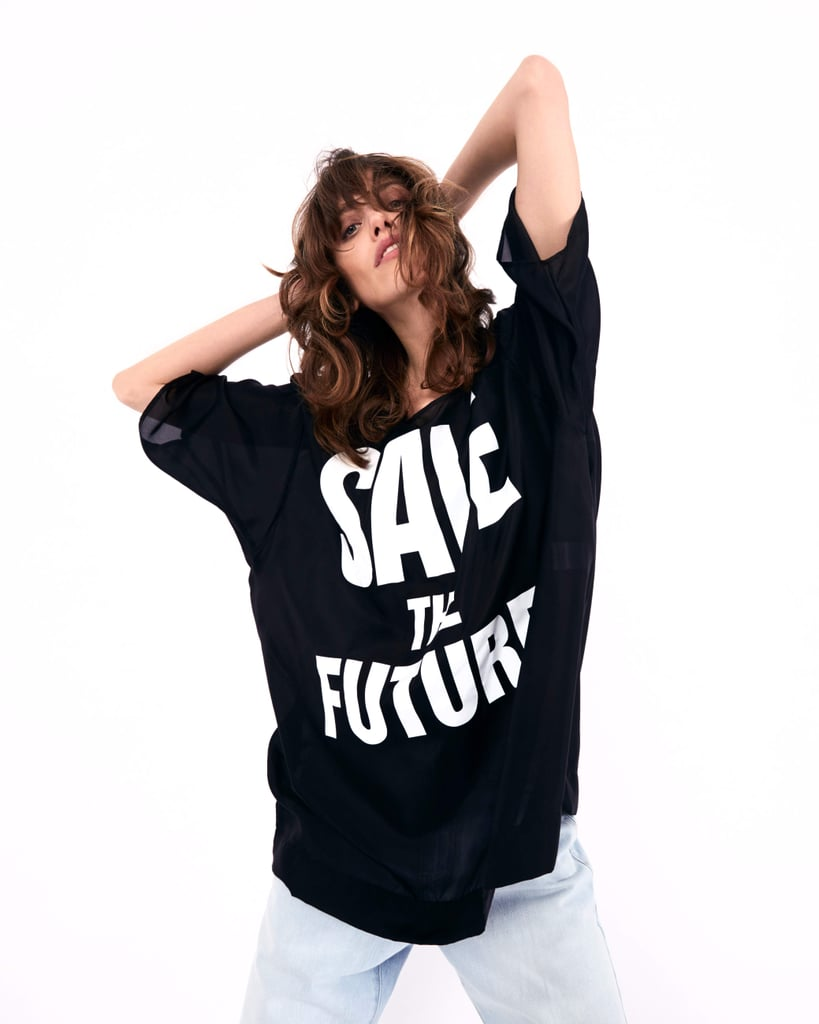 This Statement T-shirt Collection For a Cause Is a Major 80s Throwback
