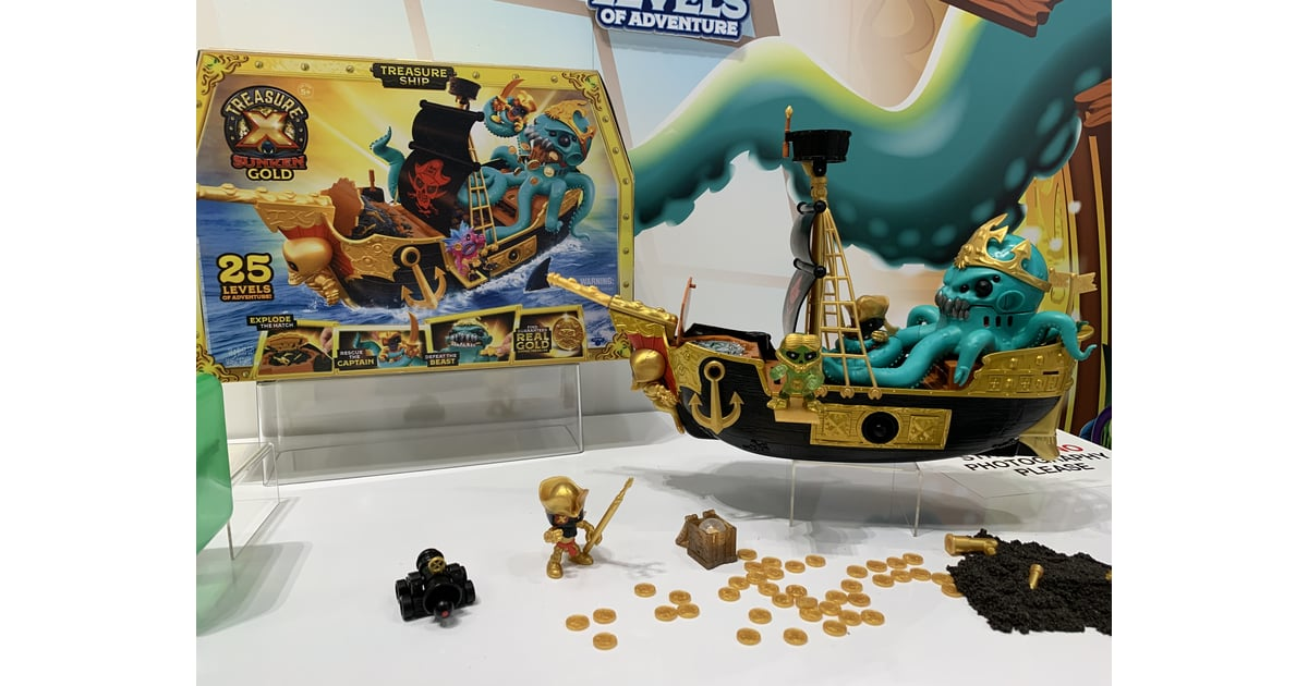 Treasure X Sunken Gold Treasure Ship | Best New Toys For ...