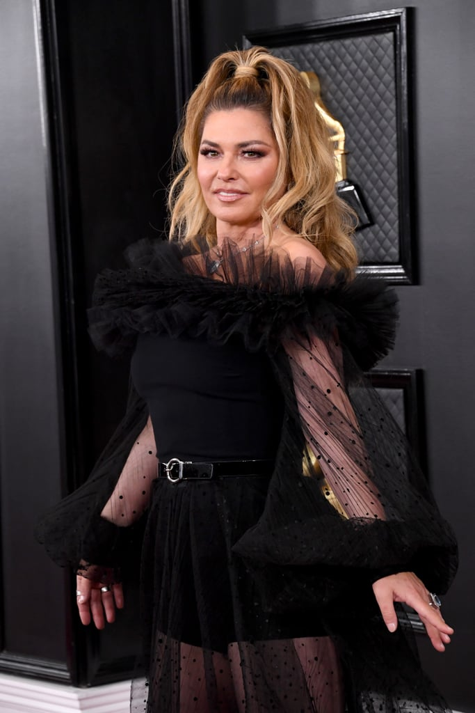 Shania Twain At The 2020 Grammys Sexiest Grammys Dresses