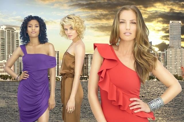 Annie Ilonzeh, Rachael Taylor, and Minka Kelly in ABC's Charlie's Angels.