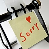 "Kids Don't Have to Say ""Sorry"""