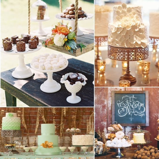 Wedding dessert table ideas popsugar food 11 darling wedding dessert tables from rustic to romantic junglespirit