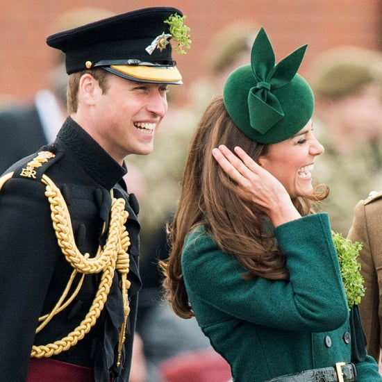 The Royals on St. Patrick's Day Pictures
