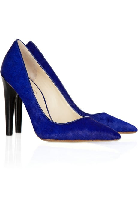 Kors Michael Kors Elgin Calf-Hair Pumps ($295)