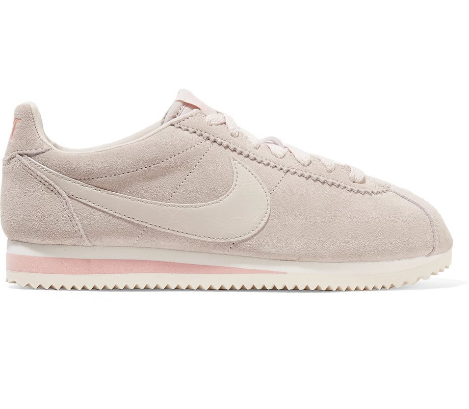 premium selection 8a405 311fb Nike Classic Cortez Suede and Leather Sneakers | May ...