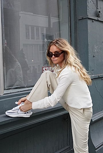 Stylish Outfits With Athletic Trainer Sneakers