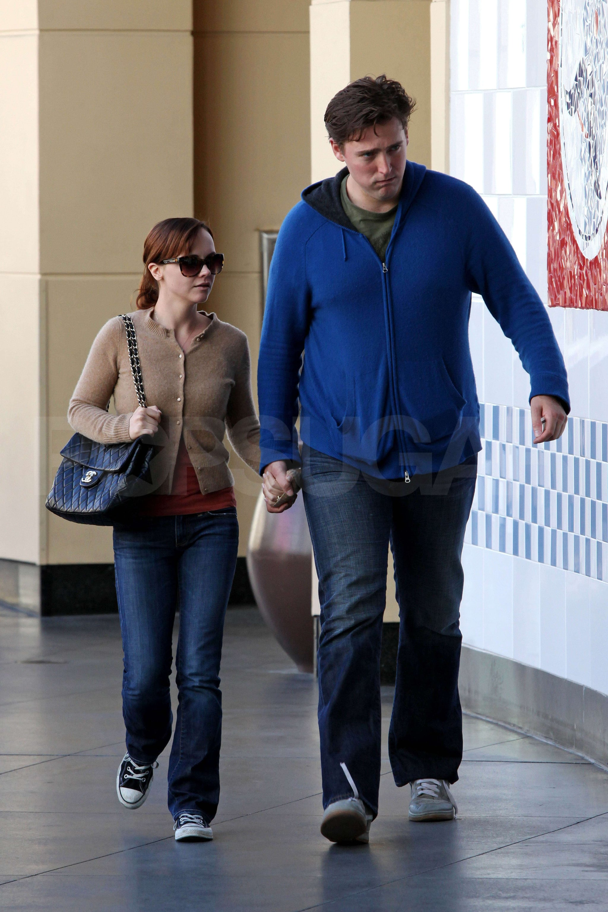 Photos Of Recently Engaged Christina Ricci And Owen