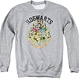 Harry Potter Hogwarts Crest Adult Crewneck Sweatshirt