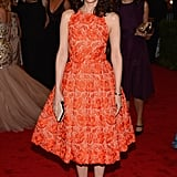 Kristen wore head-to-toe Stella McCartney to the Met Gala this year.