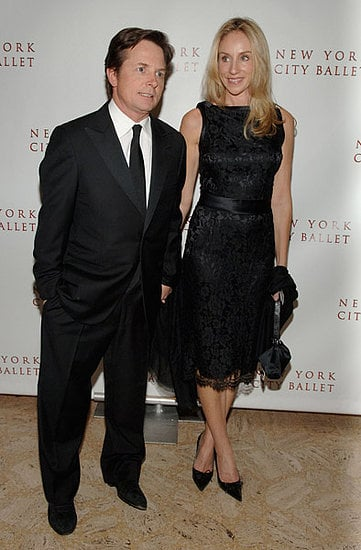 Michael J Fox and Tracey Pollan at the Opening Night of the New York City Ballet