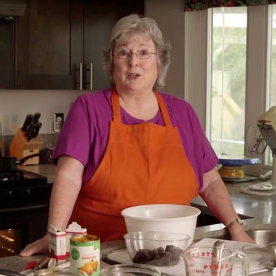 Cursing Grandma's Funny Gluten-Free Cake Tutorial