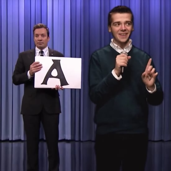 "Guy Rapping ""Alphabet Aerobics"" For Tonight Show Internship"