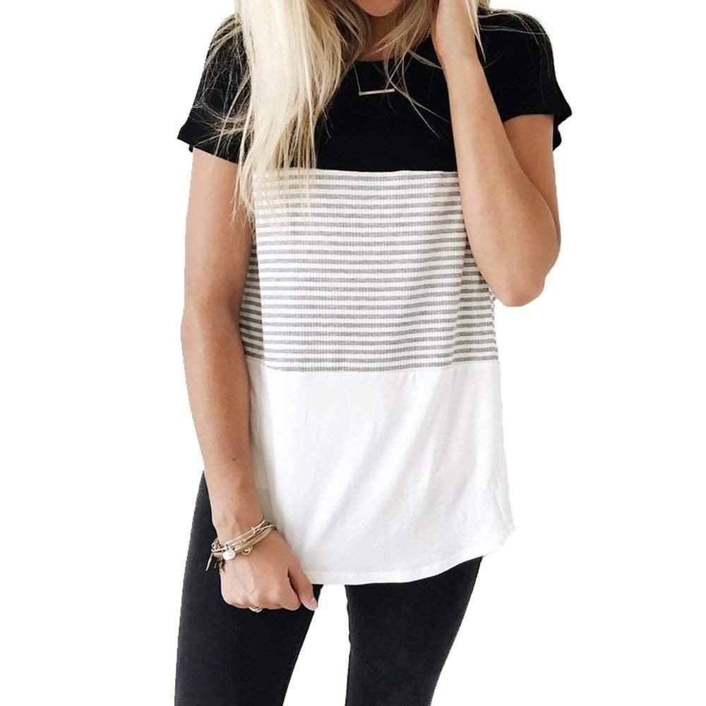 best t shirt on amazon 2018 popsugar fashion. Black Bedroom Furniture Sets. Home Design Ideas