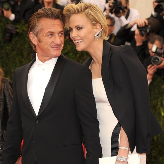 Charlize Theron and Sean Penn at the Met Gala 2014
