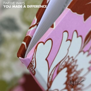 12 Ways You Make A Difference Book
