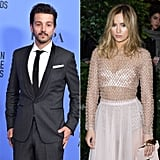 Diego Luna and Suki Waterhouse